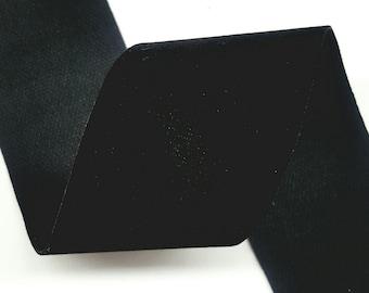 """2"""" Inch Velvet Ribbon Polyester Ribbon,  6-Yard"""