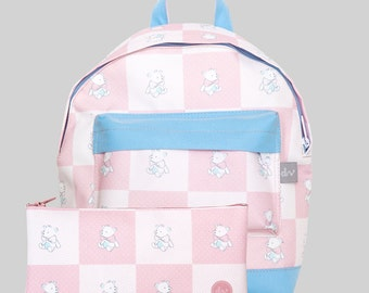 TEDDY BEAR backpack set by Designvonal for kids aged 2-6 // ready to ship