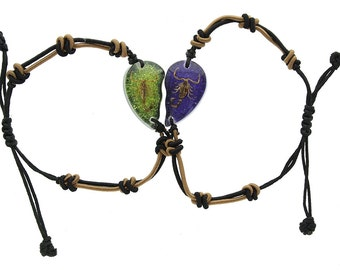 Golden Scorpion Broken Heart Bracelet