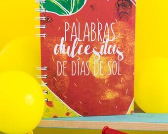 Notebook dulcesitas words of sunny days