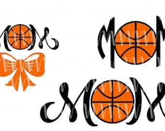 Basketball MOM SVG File
