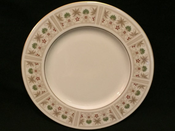 "FREE SHIPPING-Fabulous-Lenox-Tableau-Made USA-8 3/8""-Salad/Dessert Plate"