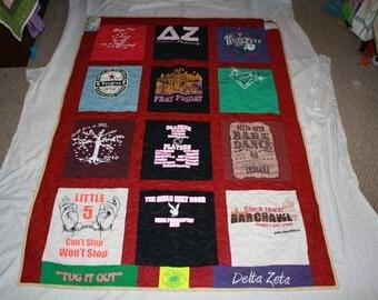 T-Shirt Quilt - DEPOSIT ONLY
