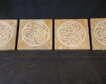 Celtic Knotwork Coasters