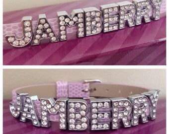 Jamberry slide charm bracelet