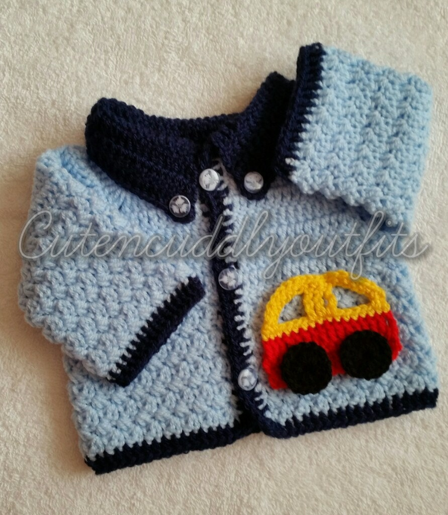 Baby crochet pattern boys crochet pattern crochet cardigan this is a digital file bankloansurffo Choice Image