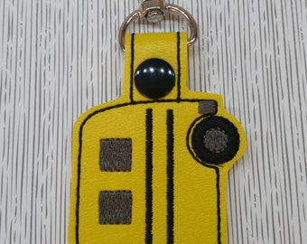 School Bus Key chain