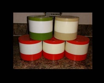 Vintage Aladdin soup travel containers
