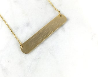 ID Gold Necklace//Fashion Necklace//Perfect for Any Occasion//Perfect Gift//Polish ID Necklace