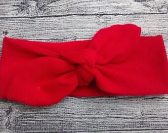 """Headband """"Rétro"""" - Red"""