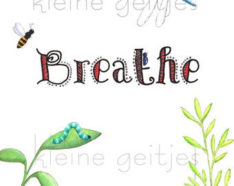 Breathe print