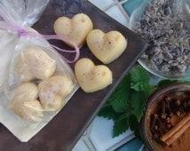 Handmade Lotion Bars ~ lavender, cinnamon, clove