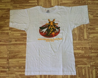 Vintage NOS Deadstock 1988 Southern All Stars Nisseki Live Tour 100 STAFF Japanese Band Tshirt