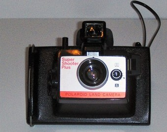 Polaroid Super Shooter Plus Land Camera, Instant Camera, Tested, Fully Functional