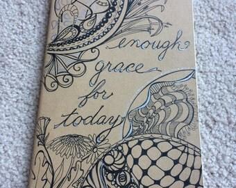 Hand Drawn Moleskine Journal