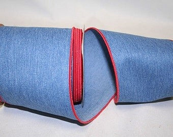 Denim Indigo Ribbon - WE - 2 Colors & 3 Widths