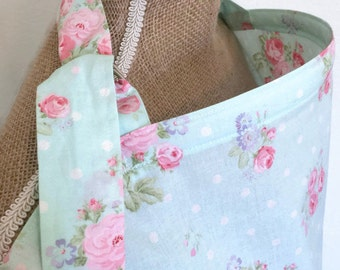 Nursing Cover Shabby Chic Floral Roses, Breastfeeding Cover Up Adjustable Flowers Pink