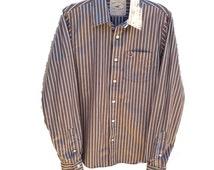 Hollister California Long Sleeve Button Up Medium