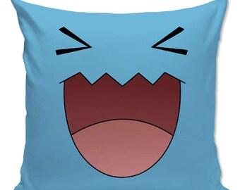 Pokemon pillow, Wobbufet Pillow, Gamer pillow - Cushion , Pillow Cover