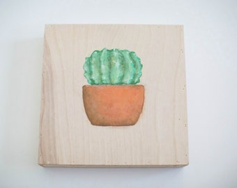 Painting on wooden panel (Small)