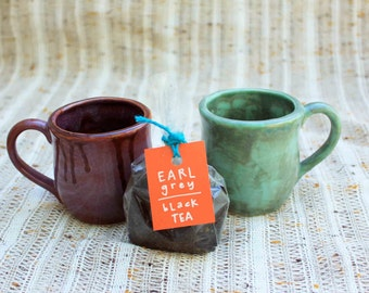 Tea Lover's Mugs-Handmade Tableware