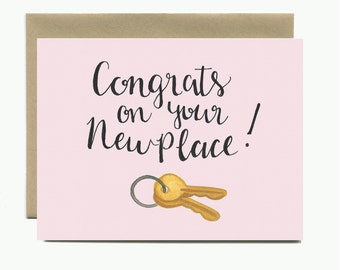 Housewarming - Congrats on your new place! Card