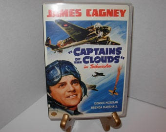 Captains of the Clouds, DVD,In Color, Full Screen,,James Cagney,Free Shipping