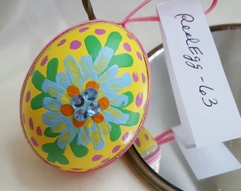 REAL EGG ORNAMENTS  - Chistmas and Easter