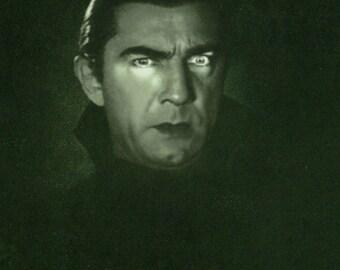 DRACULA Movie Poster Horror Vampires Universal Monsters