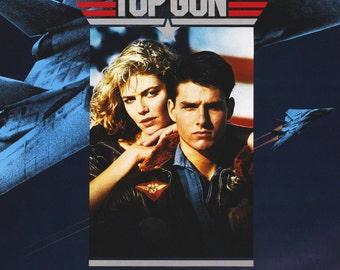TOP GUN Movie POSTER Tom Cruise