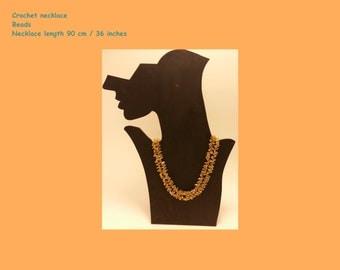 Chrochet necklace