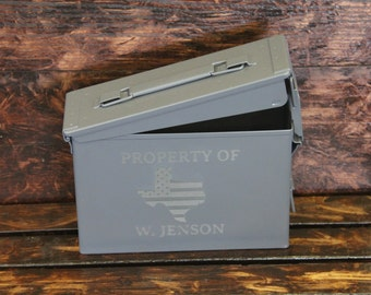 Personalized Ammo Box- 30mm