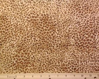 Jaguar Print Fabric