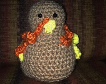 Crochet Turkey Toy