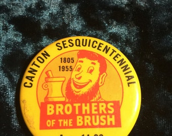 Canton Sesquicentennial Pin 1805-1955 Very Clean