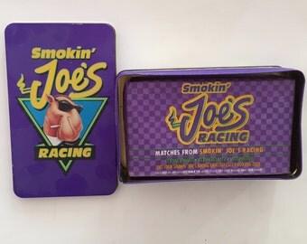 Smoking Joe's Racing Tin With Matches