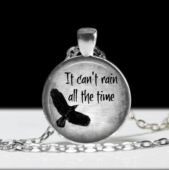 It Can't Rain All The Time Necklace Eric Draven by ...