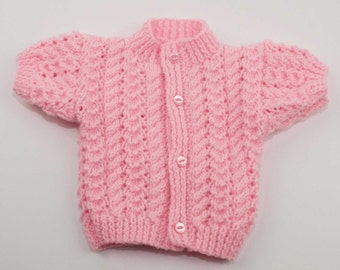 Girls Short Sleeve Cardigan