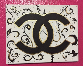 8x10 Chanel painting