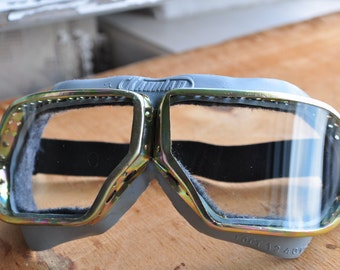 Pilot goggles USSR Aviator Goggles Vintage Goggles Steampunk Goggles Pilot Vintage Eyewear Arship goggles safety Motorcycle goggles Punk