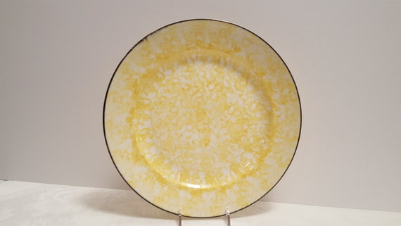 Stangl Pottery Yellow Town & Country 10 5/8'' Dinner Plate #5287