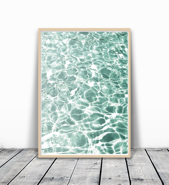 Ocean Print, Wall Print, Art Print, Ocean Wave Print, Water Print, Wave Printable, Water Photography, Ocean Wall Art, Digital Print Download