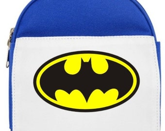 Personalised Batman Lunch Bag - Choice of colours