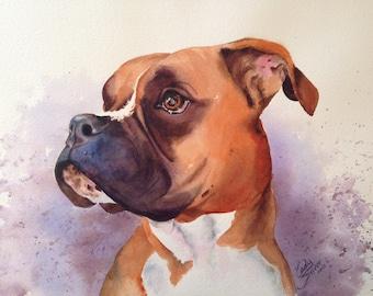 Custom Pet Portraits - Ready to frame