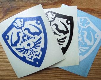 Hylian Shield vinyl cutout , decal