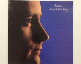 Phil Collins - Hello I Must Be Going  vinyl record album LP