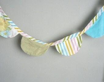 Pastel Fabric Banner
