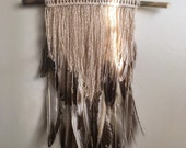 Layered Feather Hanging