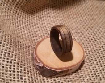 Mesquite wooden ring