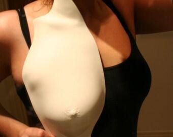Porcelain Feminine Body Cast